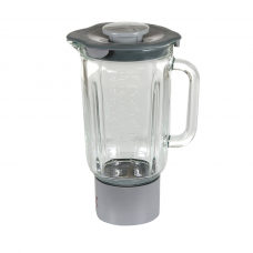 AT338 Glass Liquidiser Grey - Complete - Kenwood Chef DISCONTINUED