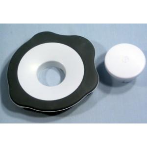 AT337 AT338 Liquidiser Goblet Lid - (White / Grey)