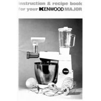 User Manual - Instruction and Recipe Book A707A
